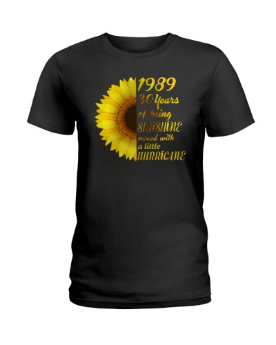 Birthday Shirt Gift Ideas For Women Sunflower 1989