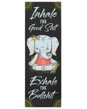Elephant Yogi 79 Yoga Mat 24x70 (vertical) front