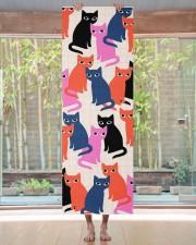 Cute Cats Yoga Mat 2 Yoga Mat 24x70 (vertical) aos-yoga-mat-lifestyle-27