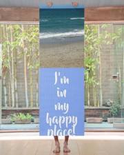 Personalized Beach Happy Place Yoga Mat 24x70 (vertical) aos-yoga-mat-lifestyle-27