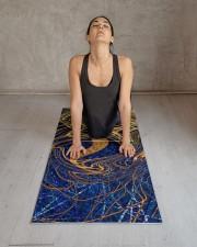 Linear Chaos Cool Yoga Mat Yoga Mat 24x70 (vertical) aos-yoga-mat-lifestyle-17