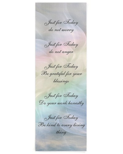 Reiki Principles Flower Mandala design
