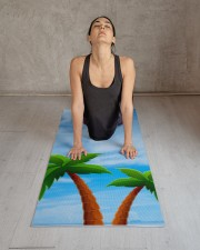 Blue Sky Palms Fitness Elegant Template Yoga Mat Yoga Mat 24x70 (vertical) aos-yoga-mat-lifestyle-17