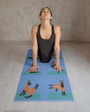 Belgian Malinois Yoga Mat 24x70 (vertical) aos-yoga-mat-lifestyle-17