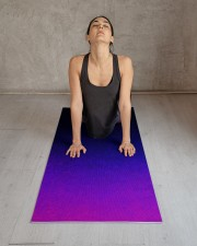 Purple Atmosphere Yoga Mat Yoga Mat 24x70 (vertical) aos-yoga-mat-lifestyle-17
