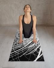 Linear Abstract4 Yoga Mat 24x70 (vertical) aos-yoga-mat-lifestyle-17