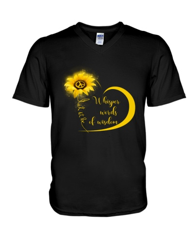 Whisper Words Of Wisdom Let It Be Shirt Hippie A