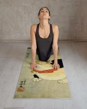 Japanese Cat Kuniyoshi Ukiyo e Yoga Mat 24x70 (vertical) aos-yoga-mat-lifestyle-17