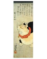 Japanese Cat Kuniyoshi Ukiyo e Yoga Mat 24x70 (vertical) front