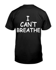 I cant breathe Premium Fit Mens Tee back