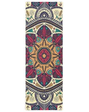 Floral Ethnic Mandala Yoga Mat 24x70 (vertical) front
