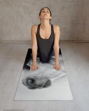 Lonely Horse Yoga Mat 24x70 (vertical) aos-yoga-mat-lifestyle-17