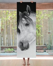Lonely Horse Yoga Mat 24x70 (vertical) aos-yoga-mat-lifestyle-27