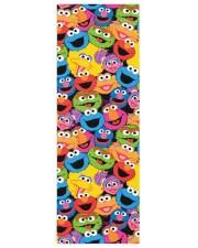 Sesame Street Character Faces Pattern Yoga Mat Yoga Mat 24x70 (vertical) front