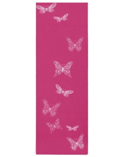 Fluttering Butterflies Bright Pink