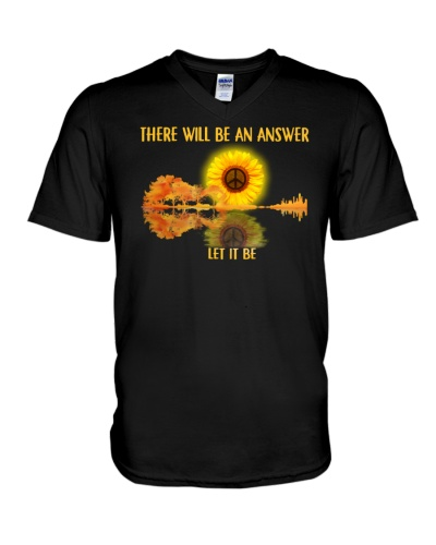 There Will Be An Answer Let It Be Shirt Hippie A
