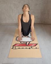Yoga Llama Llamaste Yoga Mat 24x70 (vertical) aos-yoga-mat-lifestyle-17