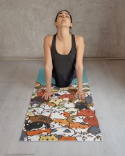 Lovely Yoga Mat 24x70 (vertical) aos-yoga-mat-lifestyle-17
