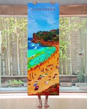 Beach Sea Summer Ocean Life Colorful Personal Yoga Mat 24x70 (vertical) aos-yoga-mat-lifestyle-27