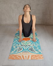 Bohemian Cookie Monster Yoga Mat Yoga Mat 24x70 (vertical) aos-yoga-mat-lifestyle-17