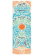 Bohemian Cookie Monster Yoga Mat Yoga Mat 24x70 (vertical) front