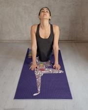Yoga Instructor Namaste Yoga Mat 24x70 (vertical) aos-yoga-mat-lifestyle-17