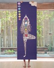 Yoga Instructor Namaste Yoga Mat 24x70 (vertical) aos-yoga-mat-lifestyle-27