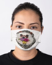 Hedgehog Face Mask 2020 Cloth face mask aos-face-mask-lifestyle-01