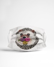 Hedgehog Face Mask 2020 Cloth face mask aos-face-mask-lifestyle-22