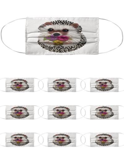 Hedgehog Face Mask 2020