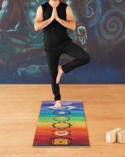 Chakra Hemp Yoga Mat 10 Yoga Mat 24x70 (vertical) aos-yoga-mat-lifestyle-03