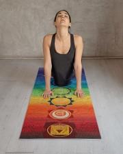 Chakra Hemp Yoga Mat 10 Yoga Mat 24x70 (vertical) aos-yoga-mat-lifestyle-17