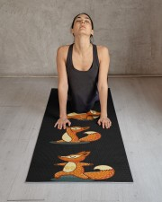 Yoga Protects Health Yoga Mat 24x70 (vertical) aos-yoga-mat-lifestyle-17