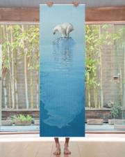 Polar Bear On Iceberg Yoga Mat 24x70 (vertical) aos-yoga-mat-lifestyle-27