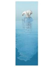 Polar Bear On Iceberg Yoga Mat 24x70 (vertical) front