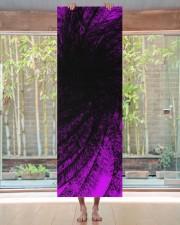 Lavender Spiral2 Yoga Mat Yoga Mat 24x70 (vertical) aos-yoga-mat-lifestyle-27