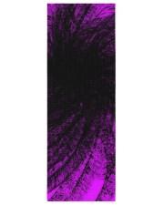 Lavender Spiral2 Yoga Mat Yoga Mat 24x70 (vertical) front