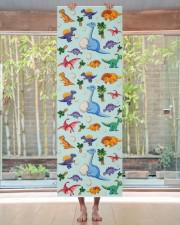 Colorful Cute Dinosaur Pattern Yoga Mat Yoga Mat 24x70 (vertical) aos-yoga-mat-lifestyle-27