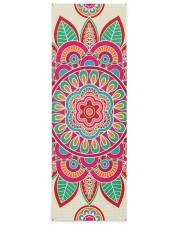 Boho Hippie Mandala Yoga Mat 24x70 (vertical) front