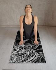 Linear Chaos Yoga Mat Yoga Mat 24x70 (vertical) aos-yoga-mat-lifestyle-17