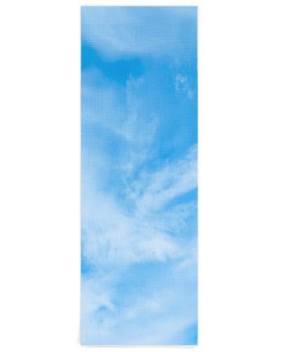 Blue Sky White Clouds Trendy Elegant Template