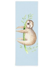 The Happy Sloth Yoga Mat 24x70 (vertical) front