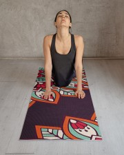 Luxury Mandala Yoga Mat 24x70 (vertical) aos-yoga-mat-lifestyle-17