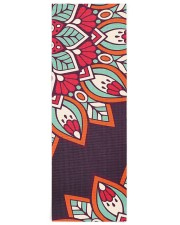 Luxury Mandala Yoga Mat 24x70 (vertical) front