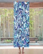 Blue Marble Yoga Mat 24x70 (vertical) aos-yoga-mat-lifestyle-27