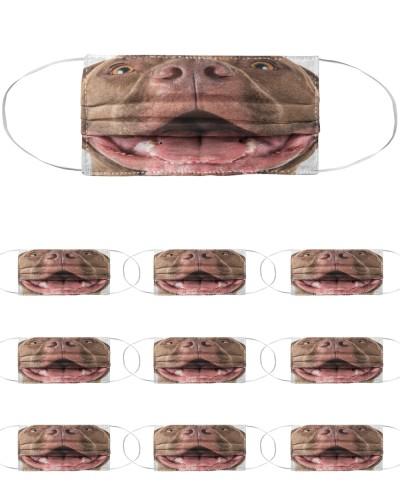 american pitbull Reusable virus restriction mask
