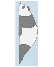 Planking Panda Yoga Mat 24x70 (vertical) front