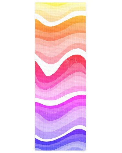 Bold Modern Colorful Simple Stripes Waves