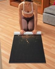 Limited Edition Yoga Mat 24x70 (vertical) aos-yoga-mat-lifestyle-21