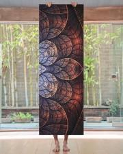 Floral Art Yoga Mat 24x70 (vertical) aos-yoga-mat-lifestyle-27